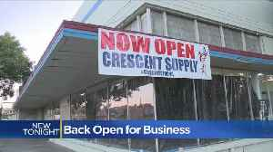 Crescent Supply Re-Opening Just A Month After Devastating Modesto Fire [Video]