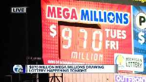 Mega Millions jackpot climbs to $970 million [Video]