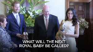 What will the next royal baby be called? [Video]