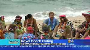 Trending: Royals Hit The Beach In Australia [Video]