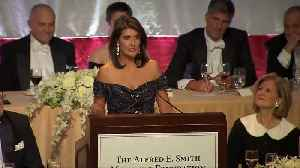 Nikki Haley dishes zingers at Al Smith dinner [Video]