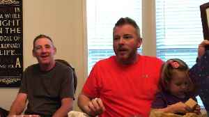 Husband shocked with baby #4 pregnancy announcement [Video]