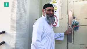 Anjem Choudary Stops For The Photographers After Prison Release [Video]
