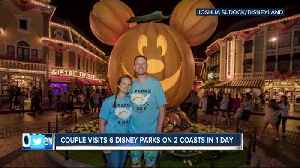 Tennessee couple visits 6 Disney parks on 2 coasts in 1 day [Video]
