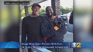 Kanye West Dines On Chicken Tacos In Naperville [Video]