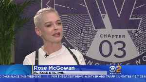 Rose McGowan Talks About The #MeToo Movement [Video]