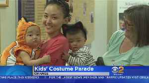 Infants, Toddlers Parade In Their Halloween Costumes At Orange Hospital [Video]