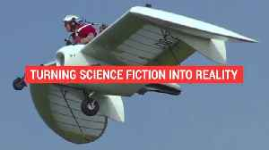 This science fiction personal jet glider is real [Video]