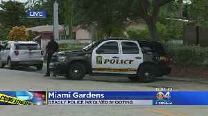 One Dead In Miami Gardens Police Involved Shooting [Video]