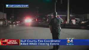 Firefighter Killed While Clearing Debris In The Panhandle [Video]