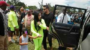Kanye West and Kim Kardashian Want to Give Away Houses to Kids in Uganda [Video]