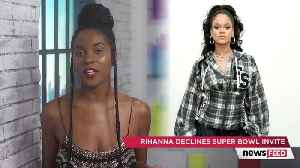 Rihanna TURNED DOWN Super Bowl for THIS Reason & Twitter is Divided [Video]