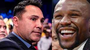 Oscar De La Hoya Fires Back At Disrespuctful Floyd Mayweather [Video]