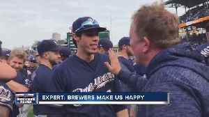 A winning Brewers team is good for the city and it makes us happy [Video]