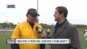 South Lyon aims to complete perfect regular season in Game of the Week [Video]