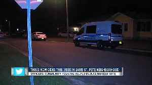 St. Pete Police investigating homicide after man found shot, lying in the street [Video]