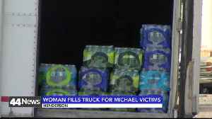 Woman Fills Trailer With Hurricane Michael Relief Supplies [Video]
