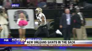 Saints gaming planning for Baltimore's vaunted pass rush [Video]