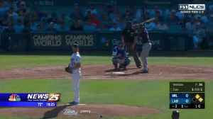 Dodgers vs. Brewers [Video]