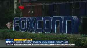Foxconn Days to bring job search to UW campus, students [Video]