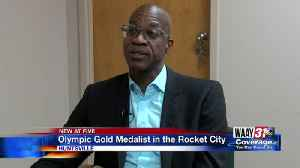 Olympic Gold Medalist in Rocket City [Video]