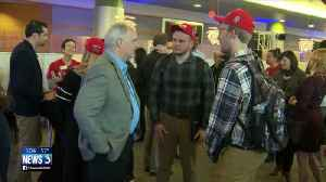 'It's a big deal': UW-Madison students, staff react to Foxconn recruiting on campus [Video]