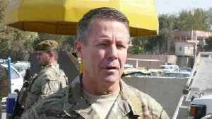 News video: General who survived Afghan attack defiant amid Taliban threats