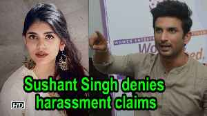 Sushant Singh Rajput denies harassment claims [Video]