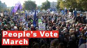People's Vote March: Thousands Turn Out For London Anti-Brexit Protest [Video]
