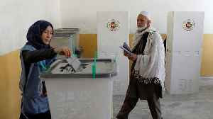 Afghans defy Taliban threats and vote in parliamentary elections [Video]