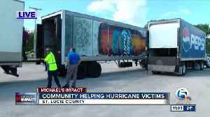 St. Lucie County gathers donations for Hurricane Michael victims [Video]