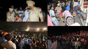 Amritsar Train Accident में कई लोगों की Death, Dussehra  [Video]