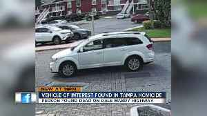 Deputies searching for vehicle of interest related to homicide near N Dale Mabry, W Busch Blvd [Video]