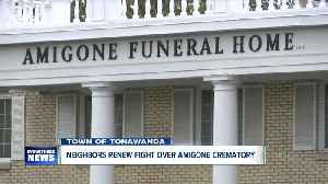 Amigone Funeral Home and neighbors face off, again