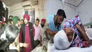 Amritsar Train Accident : Navjot Singh Sidhu ने घायलों से Hospital & [Video]