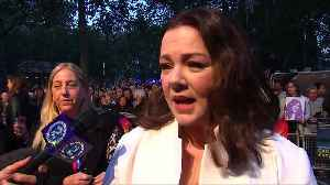 Melissa McCarthy, star of 'Bridesmaids', says just as comfortable with drama [Video]