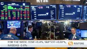S&P slips on rate, trade concerns [Video]
