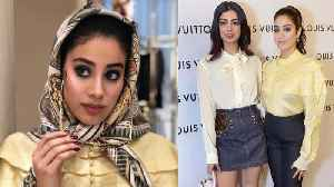 Jhanvi Kapoor & Khushi Kapoor look sassy at the Louis Vuitton store launch event in Delhi | Boldsky [Video]