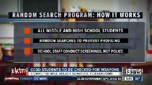 Clark County School District to conduct random searches to reduce guns on campuses [Video]