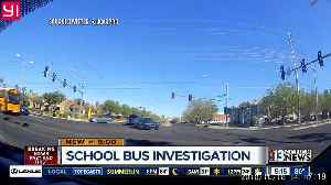 Investigation after school bus appears to run red light [Video]