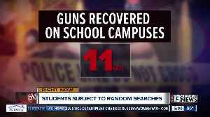 Parents react to new CCSD random weapon search program [Video]