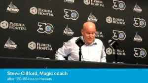 Magic coach Steve Clifford on loss to Charlotte Hornets [Video]