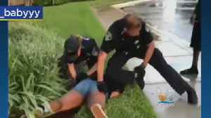 Officer Accused Of Excessive Force [Video]