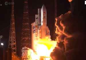 Joint Europe-Japan Mission to Mercury Blasts Off [Video]