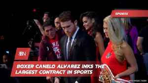 Boxer Canelo Alvarez Just Made A TON Of Money [Video]