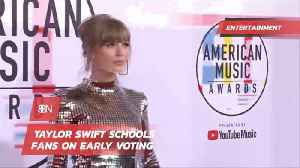 Taylor Swift Has Become A Voting Force [Video]
