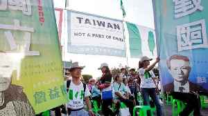 Thousands Rally In Taiwan In Call For Independence From China [Video]