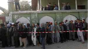 News video: Suicide Attack Kills 15 People In Afghan Capital On Election Day