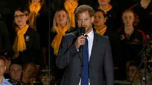 News video: Prince Harry and Meghan Markle Attend Invictus Games Opening Ceremony