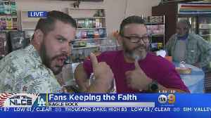 Dodger Fans Keeping The Faith Ahead of NLCS Game 7 [Video]